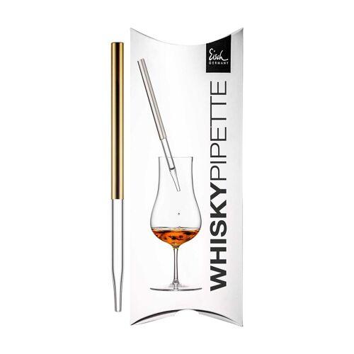 Eisch Whisky-Pipette »Gentleman Whisky-Pipette Gold im Geschenkkarton« (1 Stück)