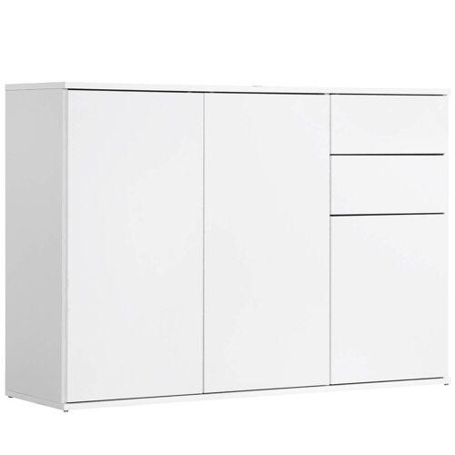 mokebo Kommode »Die Elegante«, auch als Sideboard o. Highboard sowie viele Farben & Fächer, Weiß -11