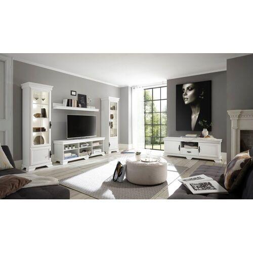 Home affaire Wohnzimmer-Set »Royal«, (4-tlg), bestehend aus 2 Vitrinen, 1 Lowboard und 1 wandboard