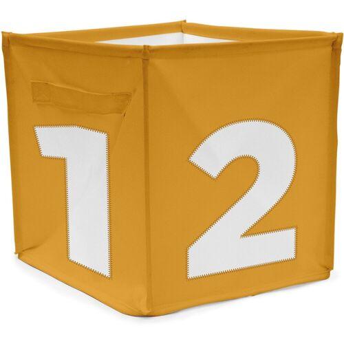 ACHOKA® Aufbewahrungsbox »Aufbewahrungsbox Würfel - rot«, gelb