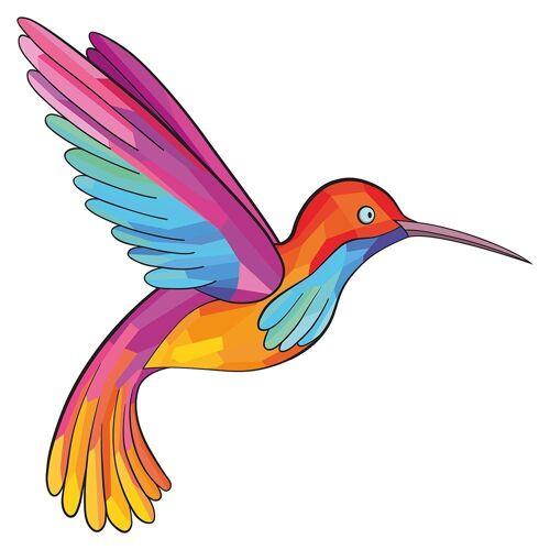 dekodino Wandtattoo »Tiere Kolibri im Flug Vogel« (1 Stück)