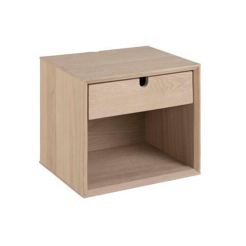 ebuy24 Nachttisch »Cent Nachttisch, gross, wandhängend mit 1 Schublad«