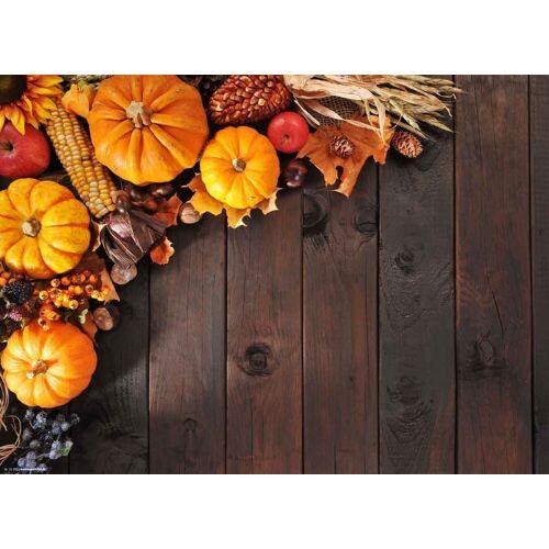 Tischsetmacher Platzset, »Tischsets I Platzsets - Herbstdeko - Herbstliches Dekor 2 - 12 Stück aus hochwertigem Papier 44 x 32 cm«, , (12-St)