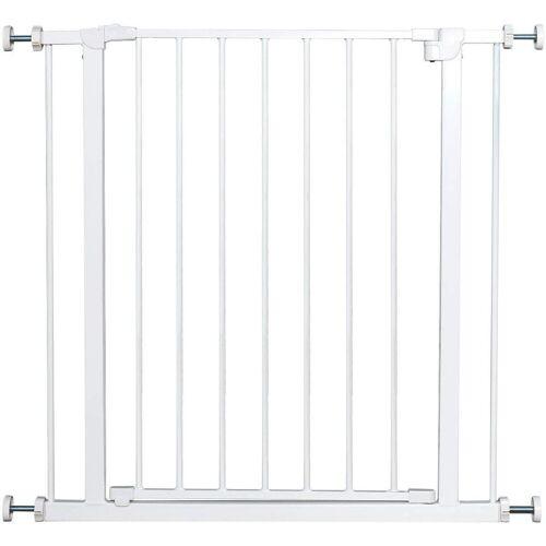 COSTWAY Treppenschutzgitter »Absperrgitter Treppengitter Laufgitter«, weiß