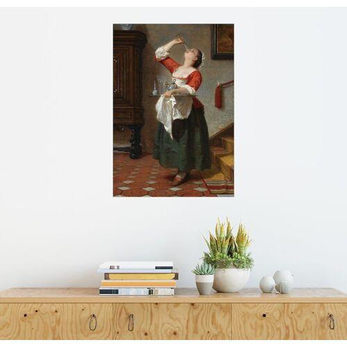 Posterlounge Wandbild, Das Naschkätzchen