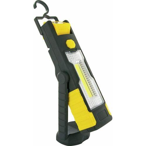 Schwaiger LED Arbeitsleuchte »VDWLED5 LED Arbeitslampe Working Light Leuchte COB Neigbar Schwarz/gelb«