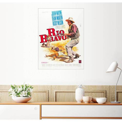 Posterlounge Wandbild, Rio Bravo
