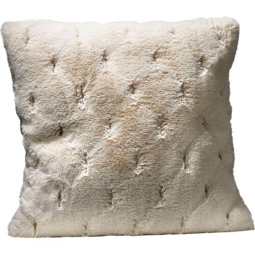 Star Home Textil Dekokissen »Rhombus«, besonders weich und hochwertig, creme