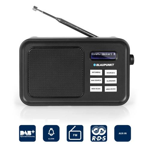Blaupunkt »RXD 60 DAB« Digitalradio (DAB) (Digitalradio (DAB), Digital-Radio LC-Display Tragbares Radio)