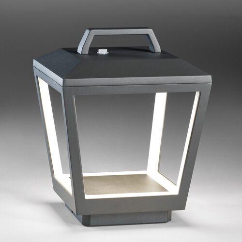 Licht-Trend LED Außen-Tischleuchte »Matrix Außen-Akku-LED Tisch-Laterne«