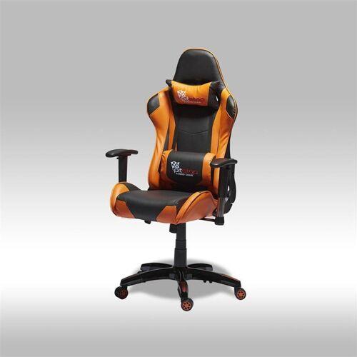 ebuy24 Gaming Chair »Gamer Stuhl Wild als Bürostuhl in orange und schwa«