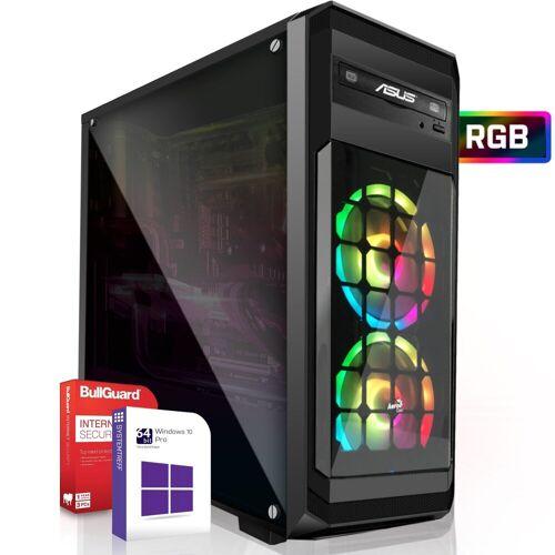 SYSTEMTREFF Basic Edition 60010 Gaming-PC (AMD Ryzen Athlon 200GE, Radeon RX Vega3 3-Core Grafikchip, 16 GB RAM, 500 GB HDD, 120 GB SSD)