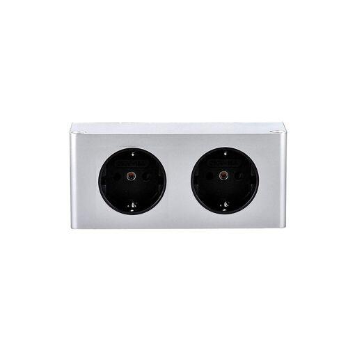 kalb »Steckdose für Küche und Büro – hochwertige Ecksteckdose ideal für Arbeitsplatte, Unterbausteckdose oder Tischsteckdose« Smarte Steckdose