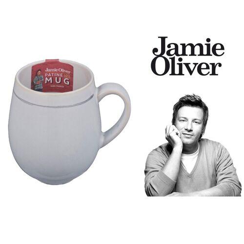 JAMIE OLIVER Tasse »Vintage Kaffeebecher Teebecher Kaffee Tee Tasse Steingut 450 ml«
