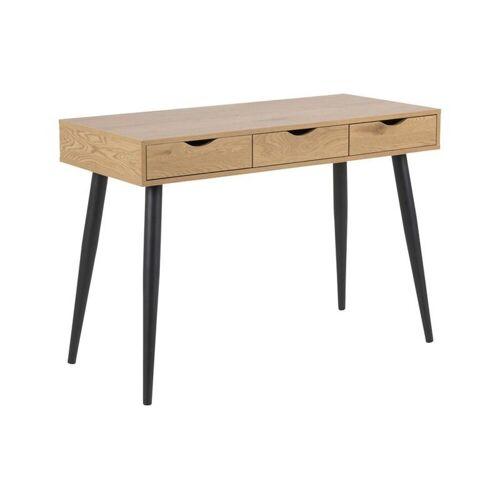 ebuy24 Schreibtisch »Nete Schreibtisch mit 3 Schubladen aus Wildeiche D«