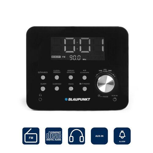 Blaupunkt »CDR 10 BK« Radiowecker (UKW, 3 W, Uhrenradio mit CD Player und Wecker)