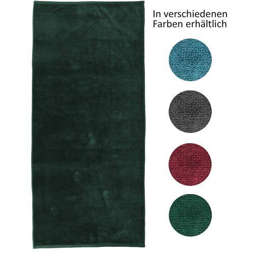 jilda-tex Strandtuch (1-St), mit 100% Bio-Baumwolle, Grün