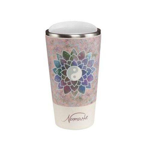 Goebel Coffee-to-go-Becher »Lotusblüte Rosé - Mug to Go Lotus«
