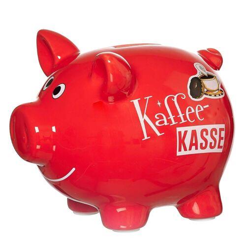 Ritzenhoff & Breker Spardose »KAFFEEKASSE Sparschwein rot«