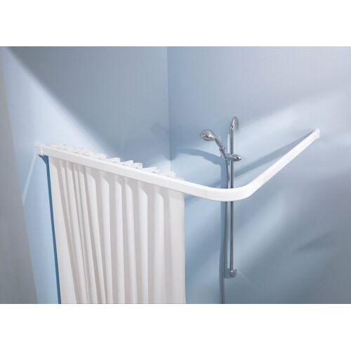 Kleine Wolke Vorhangschiene »Winkelschiene«, , kürzbar, für Duschvorhänge