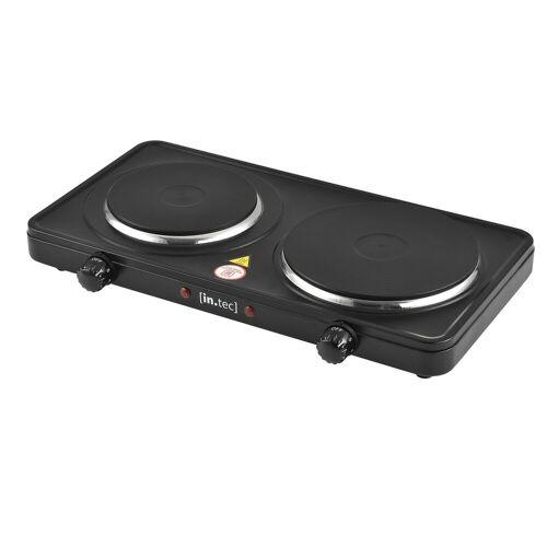 in.tec Einzelkochplatte, als Einzel- und Doppelkochplatte erhältlich mit 1500W oder 2500W