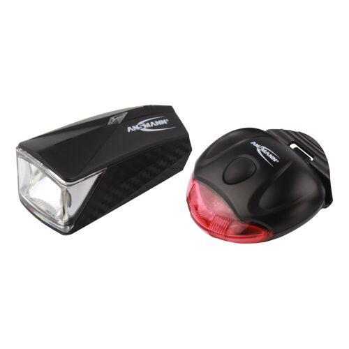 Ansmann Fahrradbeleuchtung »LiteRider StVZO Fahrradlicht mit Front.- & Rücklicht, batteriebetrieben«