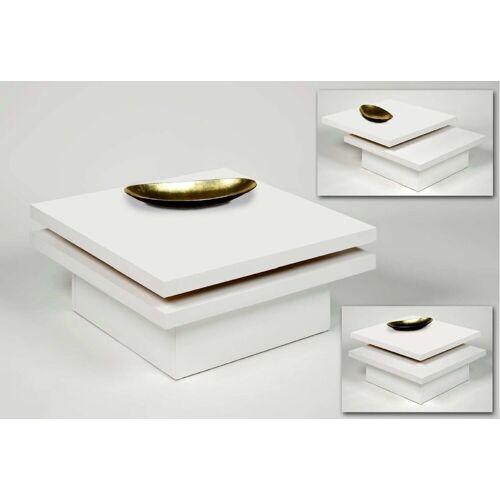 Küchen-Preisbombe Couchtisch »Wohnzimmer Couchtisch Sofatisch Beistelltisch Tisch Couch Weiss schwenkbar«