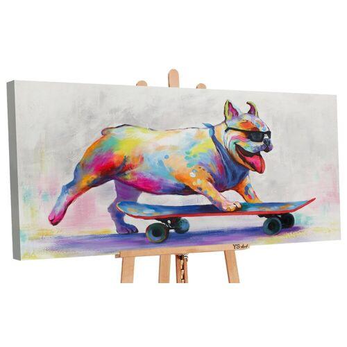 ART YS-Art Gemälde »Schöner Tag II 061«