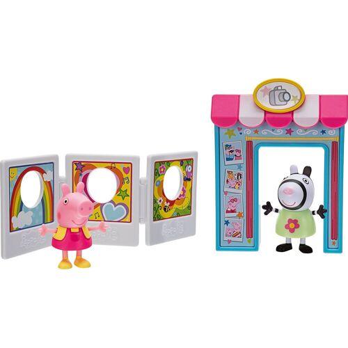 Jazwares Spielfigur »Peppa Pig Fotobox Spielset«