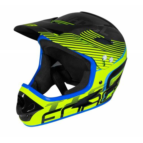 FORCE Fahrradhelm »Downhill Tiger Helm«, Gelb