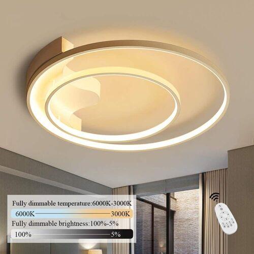 ZMH Deckenleuchte »Deckenlampe dimmbar mit Fernbedienung Weiße Wohnzimmerlampe Eisen Kronleuchte Kinderzimmer Lampe Esszimmerlampe Schlafzimmerlampe Badezimmerlampe Flurlampe [Energieklasse A++]«