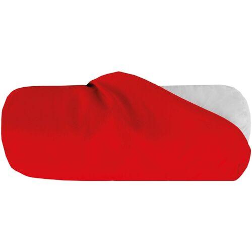 Bestlivings Nackenrollenbezug, (1 Stück), Nackenrollenbezug / Kissenbezug in versch. Größen, samtweich, Rot