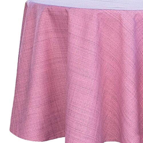 matches21 HOME & HOBBY Tischdecke »Outdoor Tischdecken Gartentischdecken rund wetterfest« (1-tlg), pink
