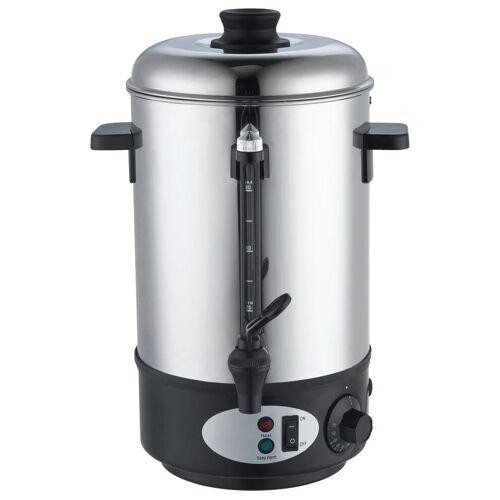 dynamic24 Heißgetränke- und Glühweinautomat, 1800 W, 8L Glühwein Behälter Wasserkocher Teekocher Getränkebehälter Glühweinautomat