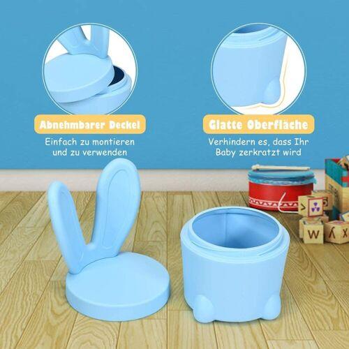 COSTWAY Hocker »Kinderhocker Kindermöbel«, Blau