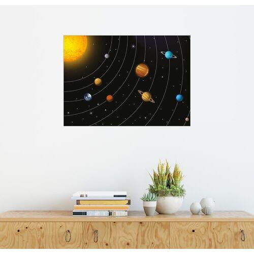 Posterlounge Wandbild, Sonnensystem