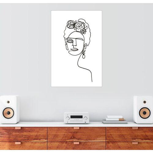 Posterlounge Wandbild, Frida