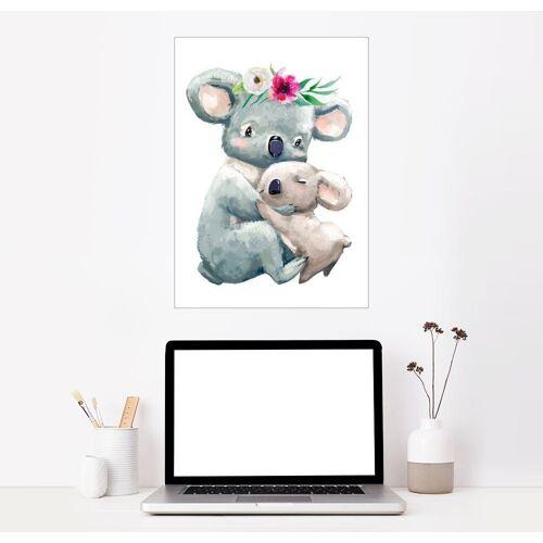 Posterlounge Wandbild, Koala-Mama