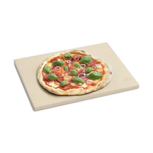 BURNHARD Pizzastein »Universal für Backofen & Grill«, Cordierit, 38 x 30 x 1.5 cm, 38 x 30 x 1.5 cm
