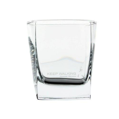 Johnnie Walker Whiskyglas »Whisky Tumbler, Whiskyglas, kubisch, Glas, 300 ml«