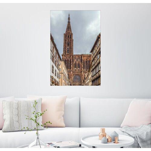 Posterlounge Wandbild, Straßburger Münster
