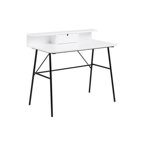 ebuy24 Schreibtisch »Pasa Schreibtisch mit 1 Schublade und 1 Ablage in«