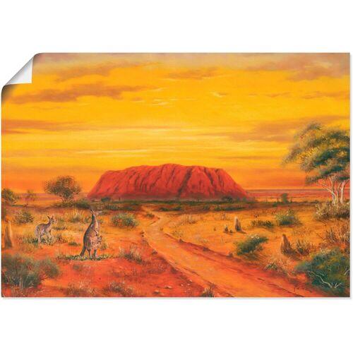 Artland Wandbild »Australisches Tal«, Australien (1 Stück)