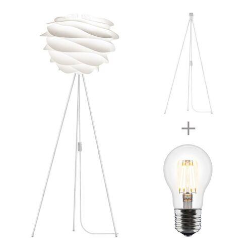 Umage Stehlampe »/ VITA Carmina Stehleuchte für A++ bis E inkl. Tripod und LED A+ weiss 48 x 36 Tripod H 109 cm Lampe«