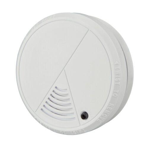 UNITEC Rauchmelder (Feuermelder weiss inkl. Batterien Brandmelder Rauchwarnmelder)