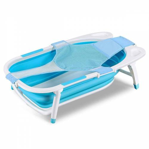 COSTWAY aufblasbarer Badewannensitz Babybecken Badewannensitz