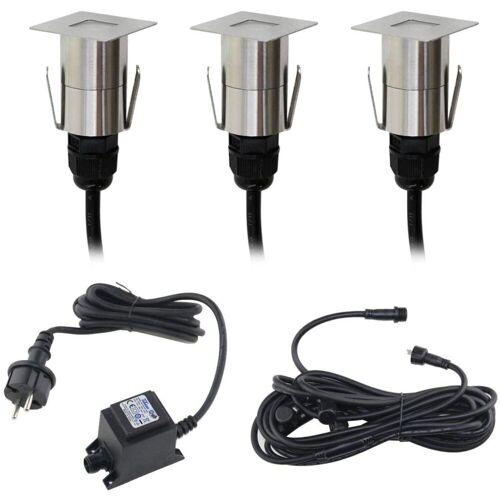 VBLED LED Einbauleuchte »Mini LED Terrassenbeleuchtung Bodeneinbauleuchte«