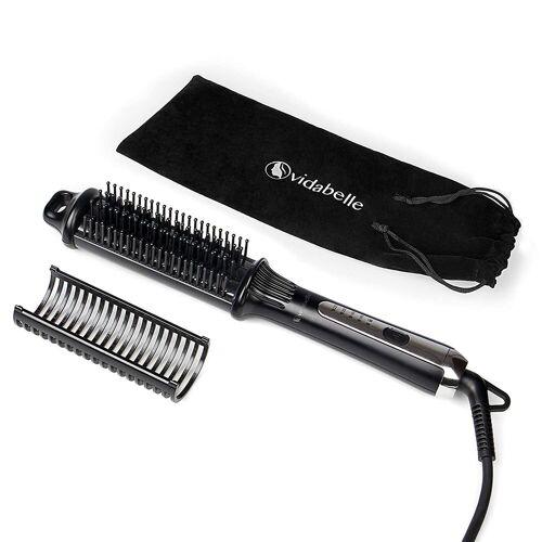 dynamic24 Haarglättbürste, Vidabelle Glättungsbürste Haarglätter Glätteisen Bürste Glätteiseisen Glätten