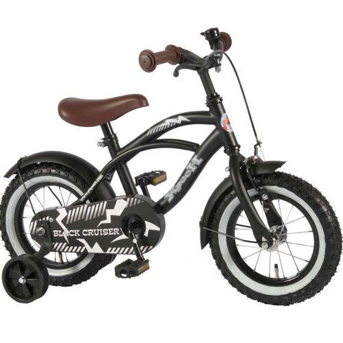 Volare Kinderfahrrad »12 zoll Fahrrad schwarz matt«, 1 Gang