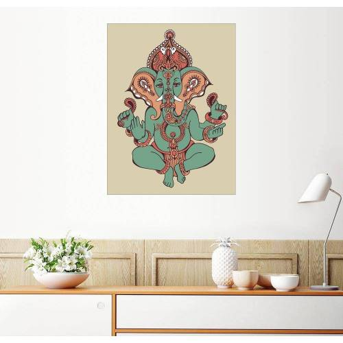 Posterlounge Wandbild, Ganesha